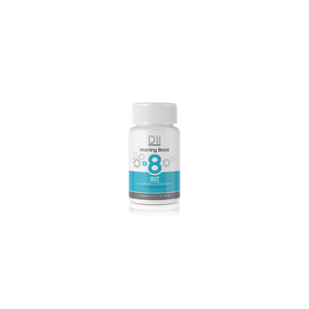 Dii Body BST (+-8) วิตามินและแร่ธาตุเสริมสร้างร่างกาย (สีฟ้า)