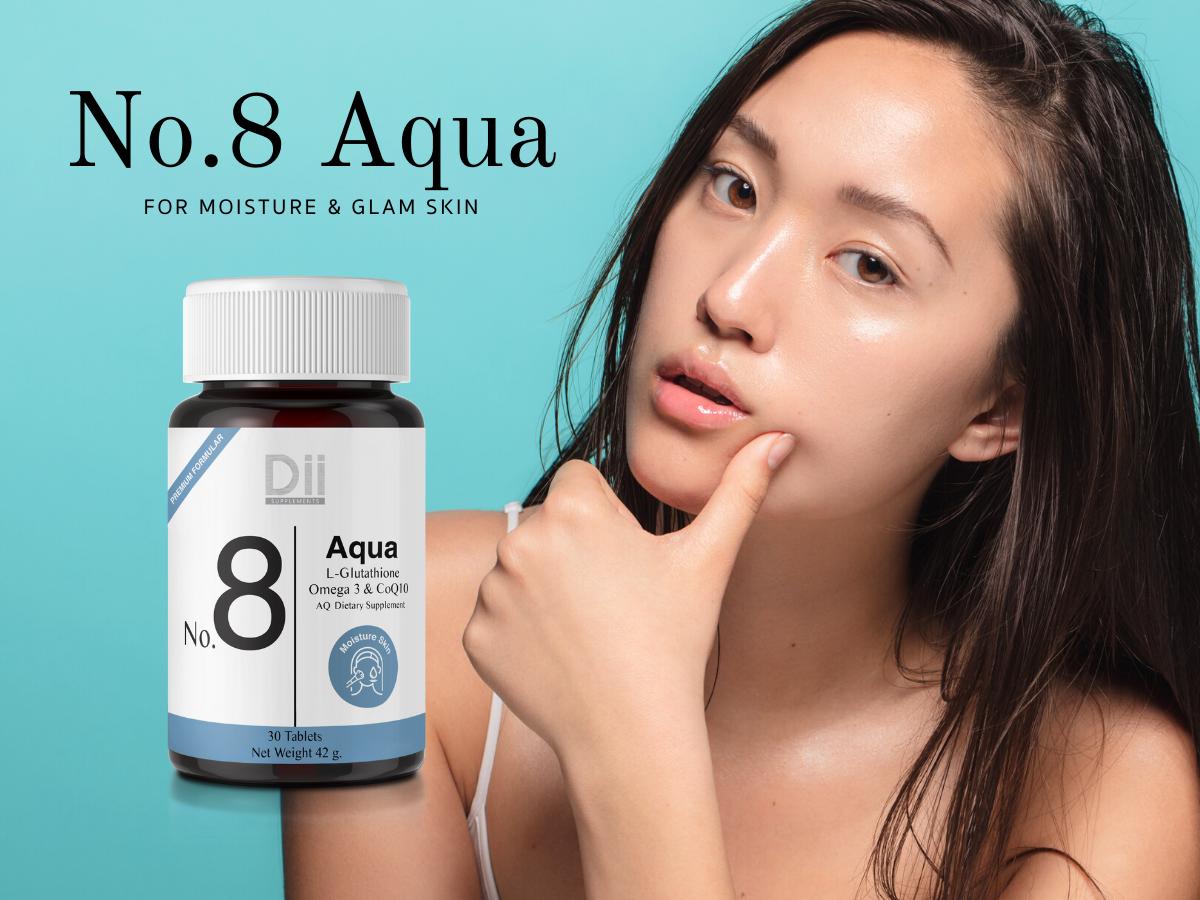 พารู้จักวิตามินดูแลผิวเด็กสูตรใหม่! Dii No.8 Aqua