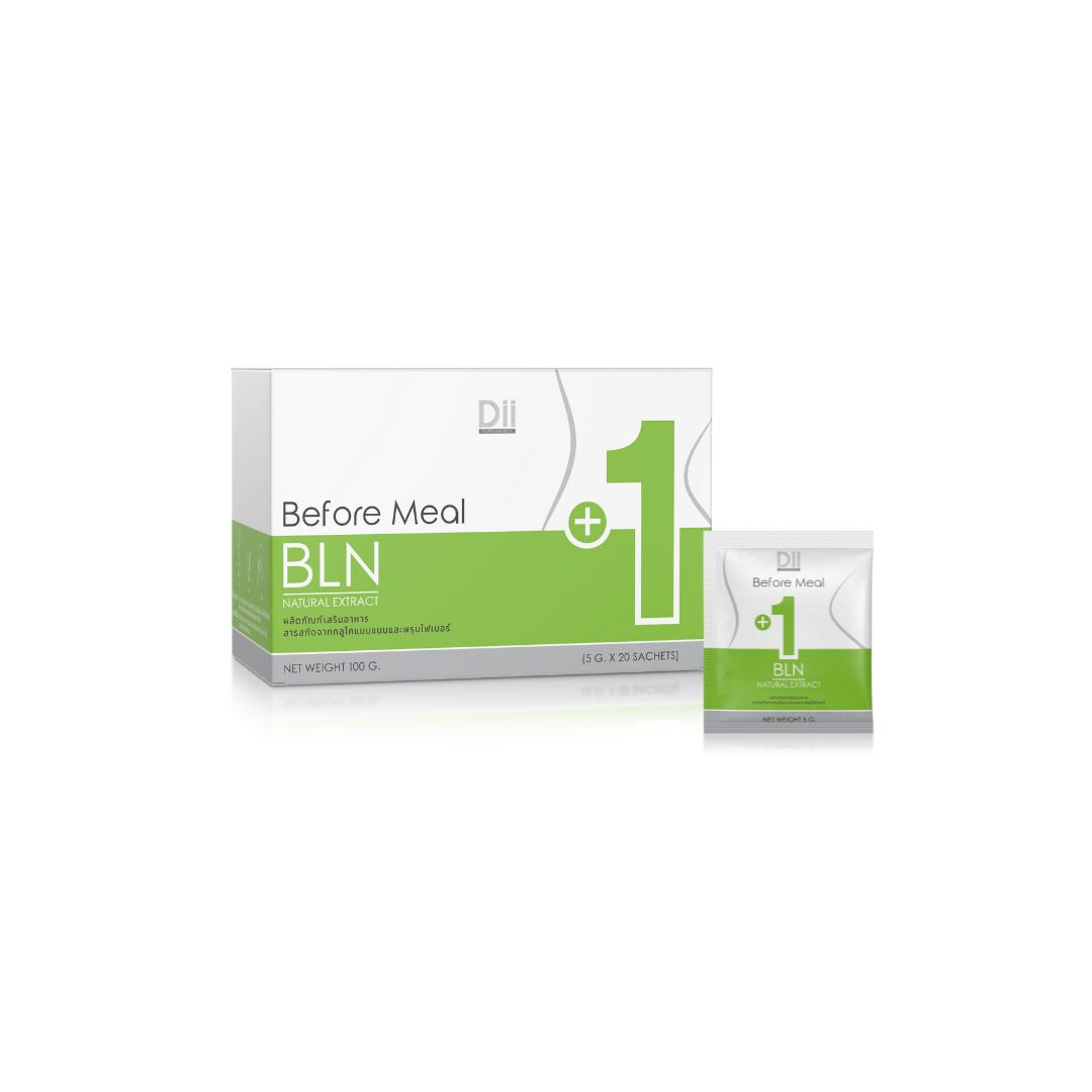 Dii Body BLN (+1) ชงดื่มเพื่อควบคุมปริมาณในการทาน (สีเขียว)
